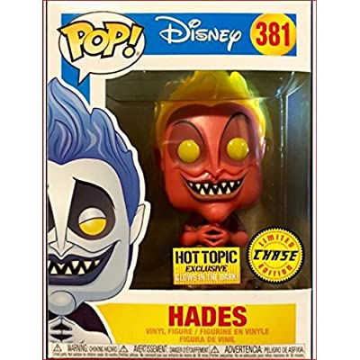 Funko Pop! Disney Hot Topic Exclusive Hades Chase # 381 Pop! Protector: Toys & Games