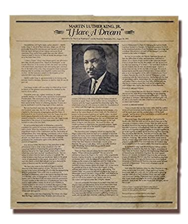 Writing High School Essays Martin Luther King Jr Quoti Have A Dreamquot Speech Phd Writing Services also Essay Examples English Amazoncom Martin Luther King Jr I Have A Dream Speech Poster  Health Issues Essay