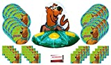 Scooby Doo Happy Birthday Party Supplies Bundle Pack for 16 (Large Balloon Plus Party Planning Checklist by Mikes Super Store)
