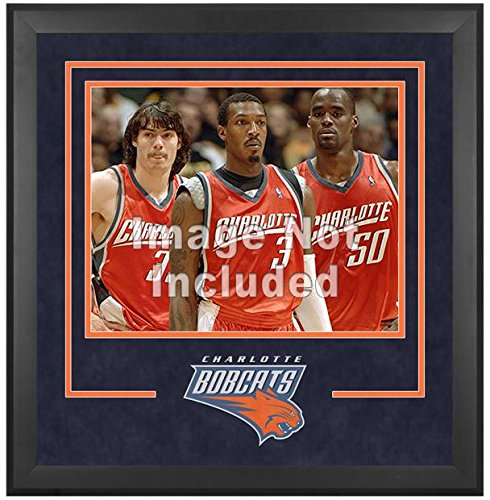 Charlotte Bobcats Deluxe 16'' x 20'' Frame - Fanatics Authentic Certified - NBA Other Display Cases by Sports Memorabilia