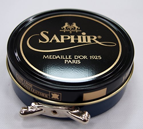 Saphir Medaille D or 1925 Pate De Luxe Navy 50ml Wax Shoe Polish