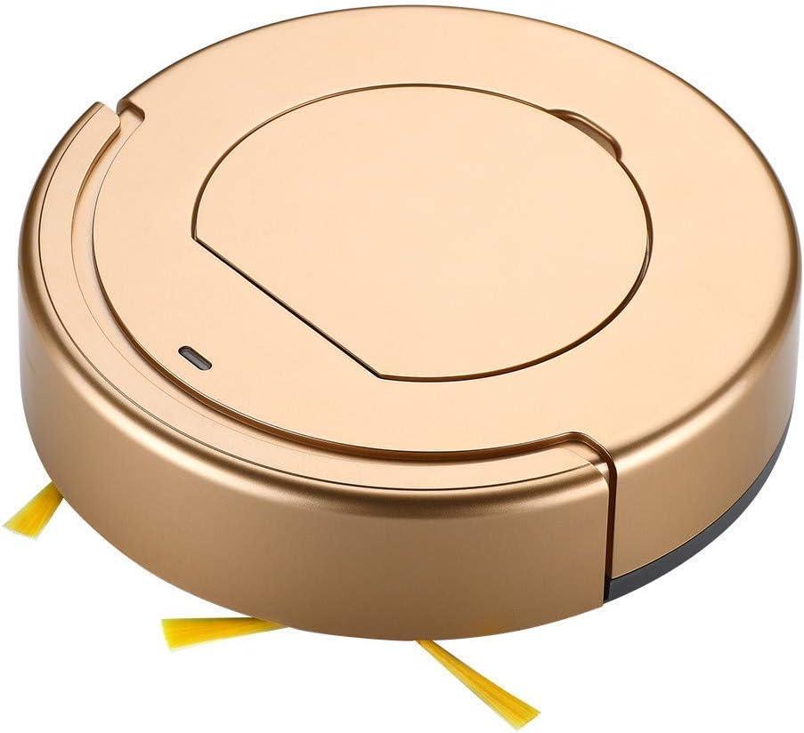 FENGTING Nettoyage Robot Aspirateur Robot de Nettoyage Intelligente Robot de ménage Balayer, (Couleur: Gold) (Color : Gold) Gold