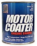 KBS Coatings 60437 Cat Yellow Motor Coater Engine Paint - 1 Quart