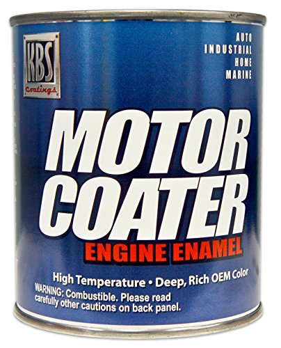 KBS Coatings 60434 Detroit Diesel Alpine Green Motor Coater Engine Paint - 1 Quart
