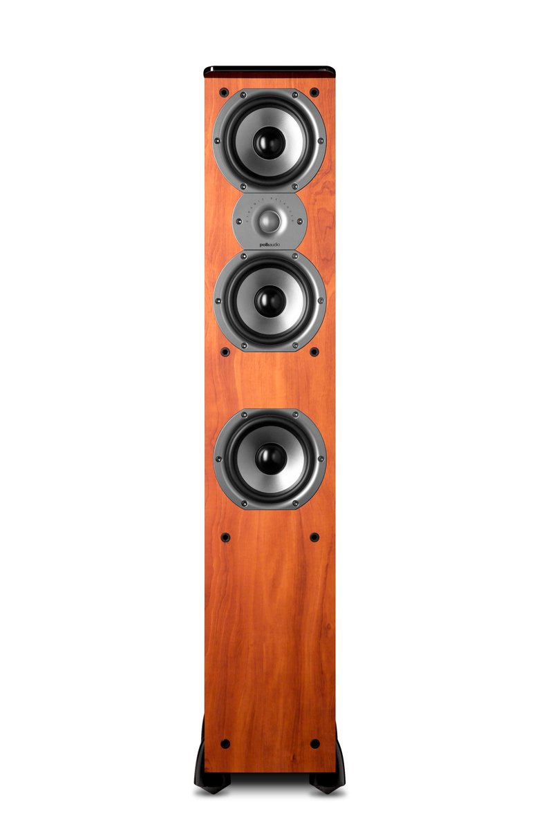 Polk Audio TSi400 Floorstanding Speaker (Single, Cherry) by Polk Audio