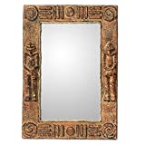 NOVICA ''African Twins'' Wall Mirror