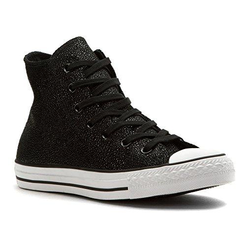 Converse All Star Hi Lea Metallic - Zapatillas abotinadas Mujer Negro