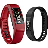 Best Garmin Exercise Trackers - Garmin Vivofit 2 Bluetooth Fitness Band (Red) Review