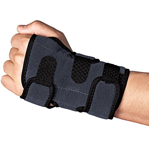 ACE Brand Deluxe Wrist Brace, Americas Most Trusted Brand of Braces and Supports, Money Back Satisfaction Guarantee