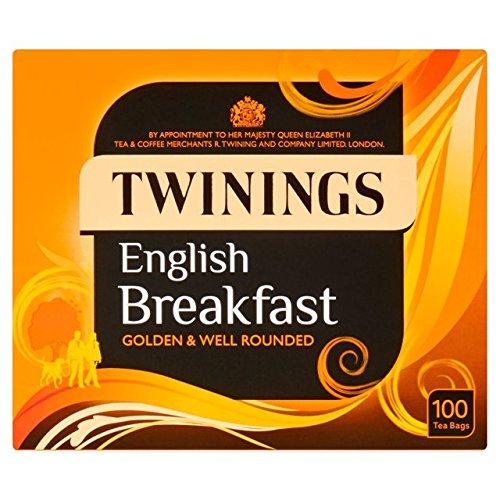 Twinings Inglés Desayuno Bolsas de té 100 por paquete: Amazon.es: Bebé