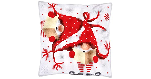 Amazon.com: Vervaco – Kit para Navidad gnomos II almohada ...