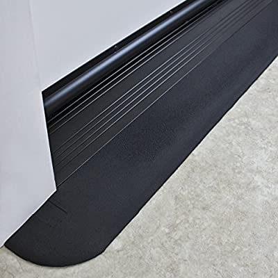 """SafePath Products RAEZ0010 EZEdge 1/2"""" Thick x 42"""" Wide x 3.5"""" Transition/Threshold Ramp"""