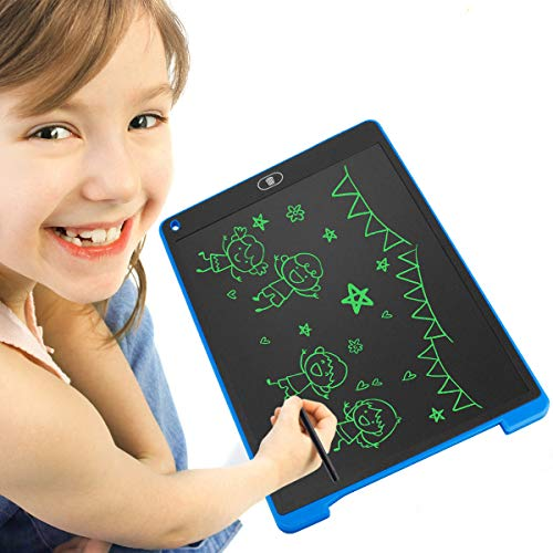 "Digital Writing Tablet Yoshine 12"" LCD Writing Board Doodle Board Kids Drawing Pad Graphic Drawing Tablet eWriter Electronic Writing Pad with Stylus for Kids Students Family Memo Office Designer"