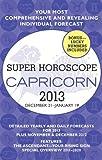 Capricorn (Super Horoscopes 2013), Margarete Beim, 0425246426