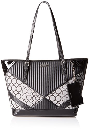 Nine West Ava Tote, Black/Black/Black/Black/White/Black
