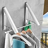 IN VACUUM Clothes Drying Rack Folding