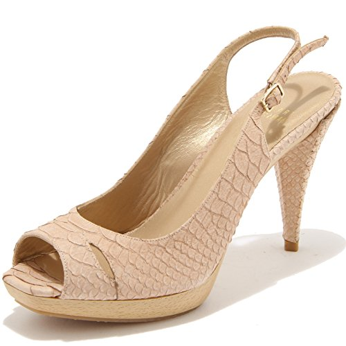 59090 sandalo decollete STUART WEITZMAN scarpa donna shoes women Beige