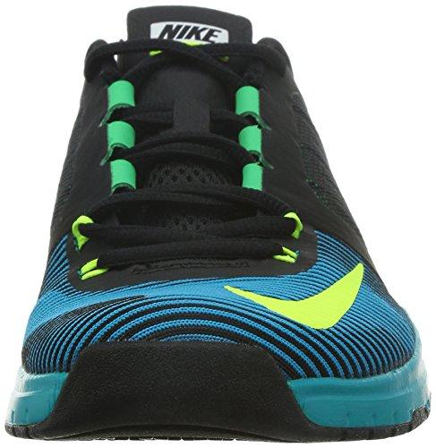 Nike Menns Zoom Hastighet Trener Tre Svart / Volt / Blå Lagune