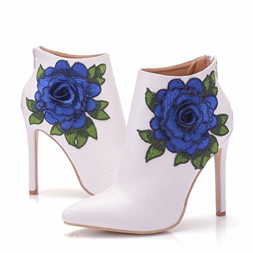 Boots 5 Blanc Femme Chelsea 36 EU Joymod Blanc MGM vw0qx756