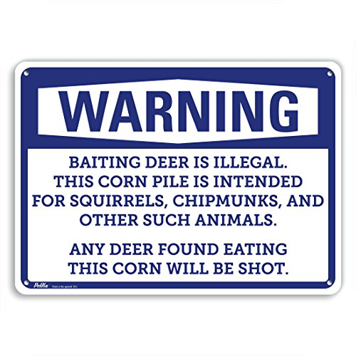 deer corn sign - 7