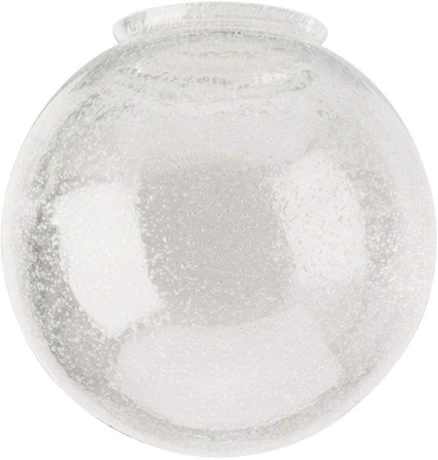 Renewed Westinghouse 8156000 3-1//4 Hand-Blown Clear Seeded Glass Globe
