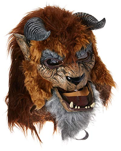 California Costumes Men's Storybook Beast Mask, Brown, One -