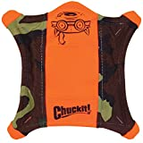 Chuckit! Flying Squirrel Spinning Dog Toy Orange/Blue 3 Sizes Available Review