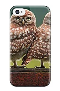 Everett L. Carrasquillo's Shop Best 5285116K62672829 New Premium Owl Skin Case Cover Excellent Fitted For Iphone 4/4s