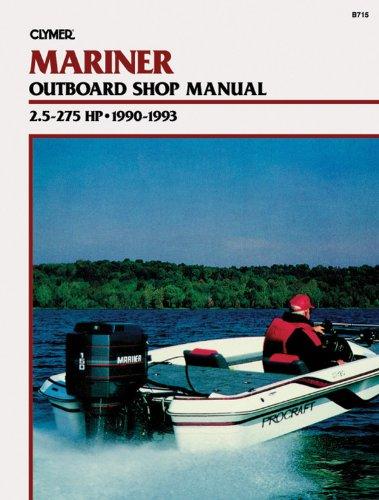 25 Hp Owners Manual (Mariner 2.5-275 HP OB 90-1993)