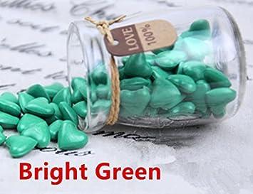 mdlg 90pcs 22 colores forma de corazón cristal embotellada para sellado con cera Sello Vintage invitaciones