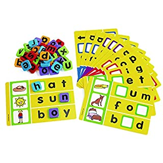 Excellerations PSG Phonics Spelling Game for Kids and Classrooms Classroom Activity (12 Game Boards)
