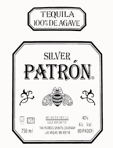Single Source Party Supplies - Patron Tequila Cake Edible Icing ...