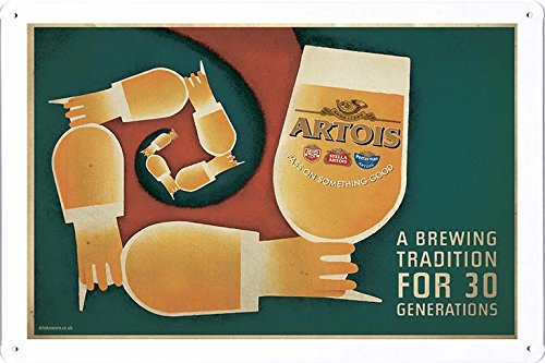 tin-sign-metal-poster-plate-8x12-of-stella-artois-beer-tradition-by-food-beverage-decor-sign