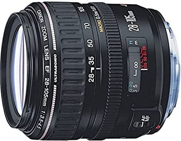 Amazon.com: Canon EF 28 – 105 mm f/3.5 – 4.5 USM autofocus ...
