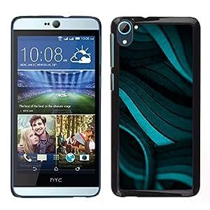 MOBMART Carcasa Funda Case Cover Armor Shell PARA HTC Desire D826 - Spirals Of Green