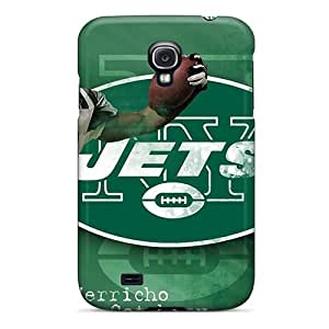 Protector Hard Phone Cover For Samsung Galaxy S4 (xPd10447iazg) Unique Design Lifelike New York Jets Series