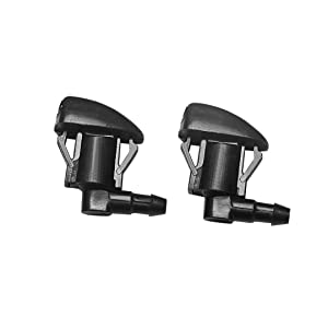 25823360 for GM Chevroelt GMC Buick Cadillac Saturn Direct Replacemnt Durable Front Windshield Wiper Washer Nozzle Spray Sub Assembly Pack of 2
