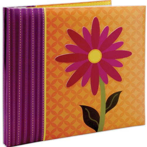 Memory Album Page Kit - MCS MBI 13.5x12.5 Inch 3-D Character Scrapbook Album with 12x12 Inch Pages, Flower (848135)