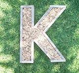 DIY Letter Planter 20 inch Unfinished Succulent Monogrammed Initials Succulent Planter Succulent Letter Box
