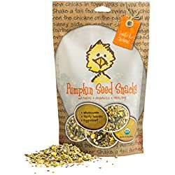 Treats for Chickens Pumpkin Seed Snacks, 1-Pound