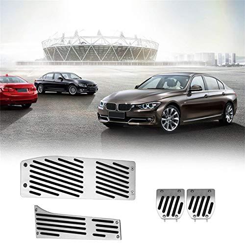 4 PC no Slip Cubierta del Pedal del Kit de la Serie de BMW, Acelerador del Pedal del Freno Ajuste automático del Embrague del Recorte Accesorios del Coche, ...