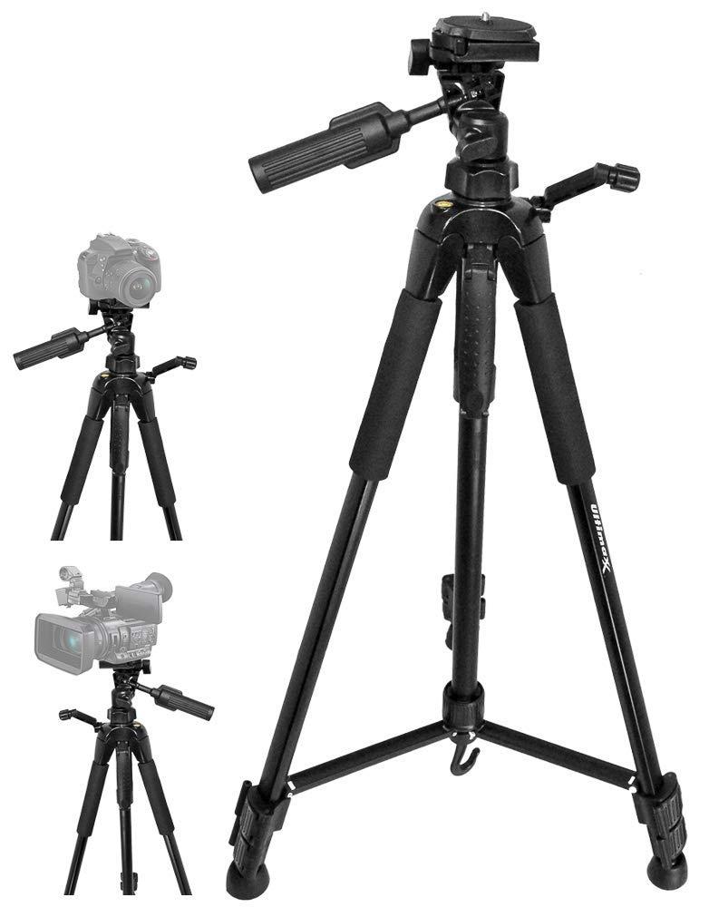 最適な材料 Ultimaxx 72インチ 72インチ 軽量ポータブルカメラ三脚スタンド キャリーバッグ付き Ultimaxx すべてのデジタル一眼レフカメラとビデオカメラ用 B07PN723L3, 竹原クロージング:18473585 --- martinemoeykens.com