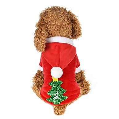 Kehome Small Dog Christmas Clothes, Dot Pet Christmas Costumes Xmas Tree Dog  Clothes for Small - Amazon.com: Kehome Small Dog Christmas Clothes, Dot Pet Christmas
