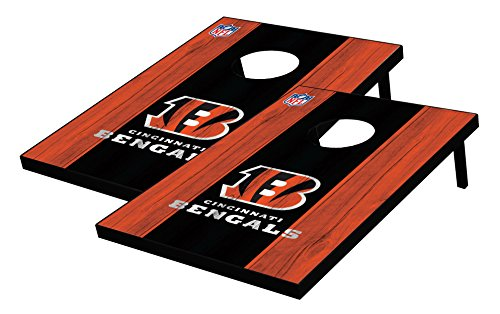 Wild Sports 2'x3' NFL Cincinnati Bengals Cornhole Set by Wild Sports