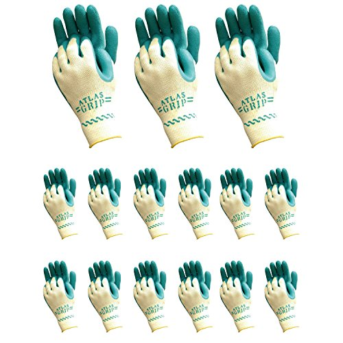 Atlas 310 Grip Multi-Purpose X-Small XS Gardening Nylon Work Gloves, 72-Pairs by Atlas