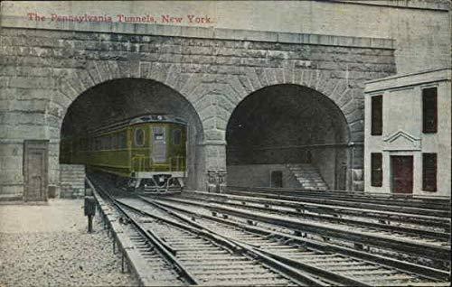 The Pennsylvania Tunnels, New York New York City NY Original Vintage Postcard