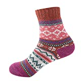Christmas Women's Dress Cool Colorful Fancy Novelty Funny Casual Combed Cotton Crew Socks