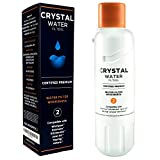 Compatible with Whirlpool W10413645A EDR2RXD1 FILTER 2 Maytag KitchenAid Jenn-Air Amana Kenmore 46-9903 Certifiertified Premium Crystal Water Filters