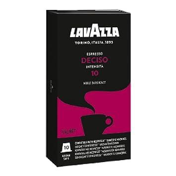 Lavazza deciso Espresso, Café Cápsulas, compatible con máquinas, 10 Cápsulas de Nespresso Café Cápsula: Amazon.es: Hogar