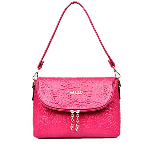Zhuotai Women's Fashion Bag Rose One Shoulder Inclined Across A Small Package(rose)